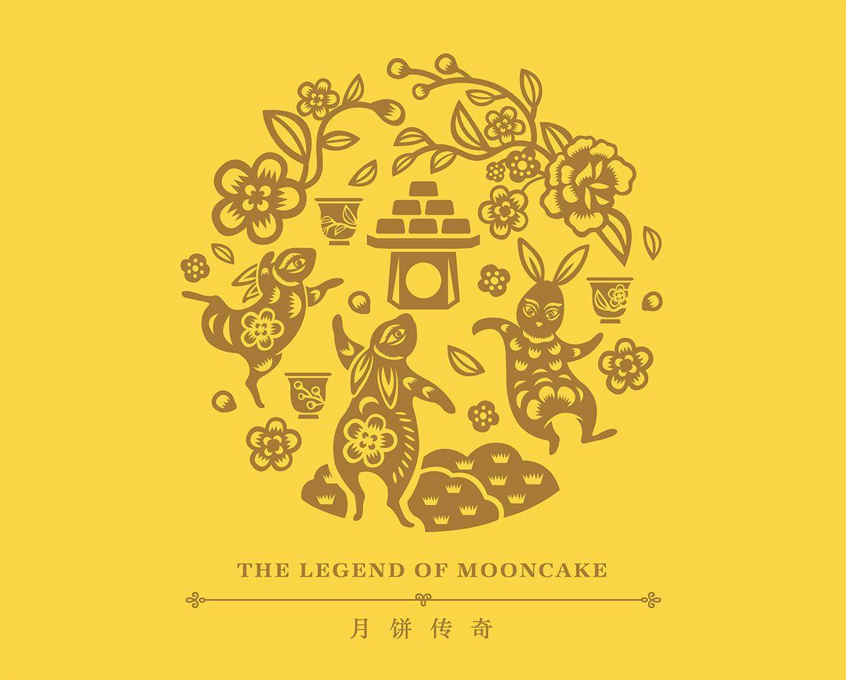 KSE MOONCAKE 2018 on Behance in 2020 Moon cake