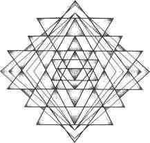 7d8987a77 Sri yantra mandala tattoo | Hipster Tattoos | Yantra tattoo, Mandala ...