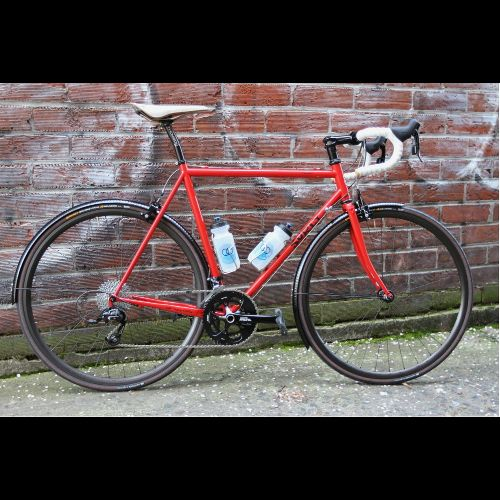 21st Avenue Bicycles custom Surly Pacer  Beautiful build, SRAM Rival