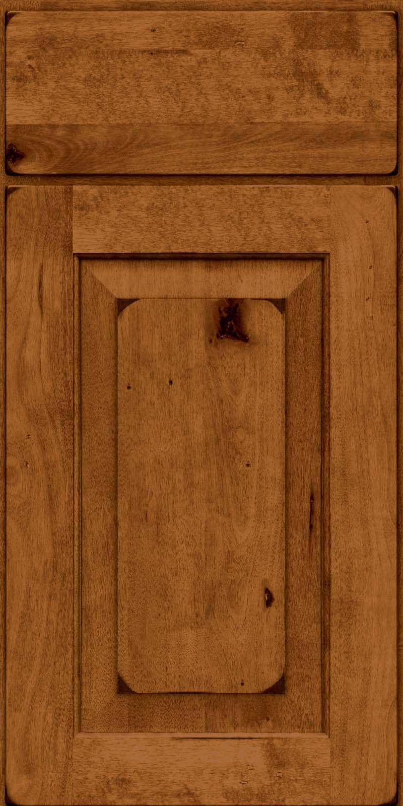 Square Raised Panel - Solid(DAB6) Square Burnished Praline | Kitchen ...