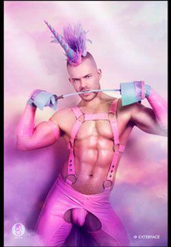 Pink gay baggrund