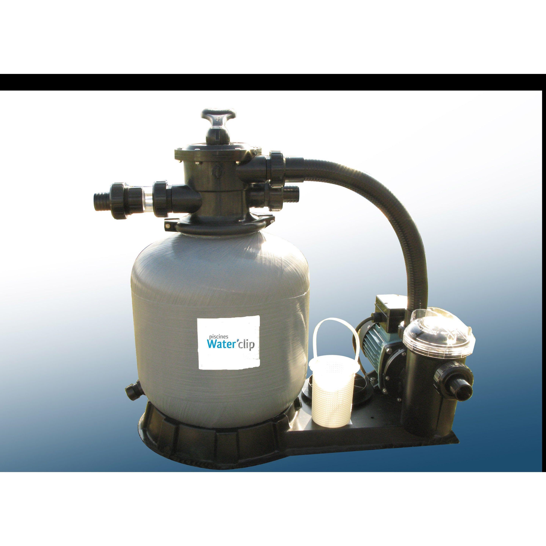 Kit De Filtration A Sable 11m3 Water Clip Sable Piscine Filtre A Sable Et Piscine Tubulaire