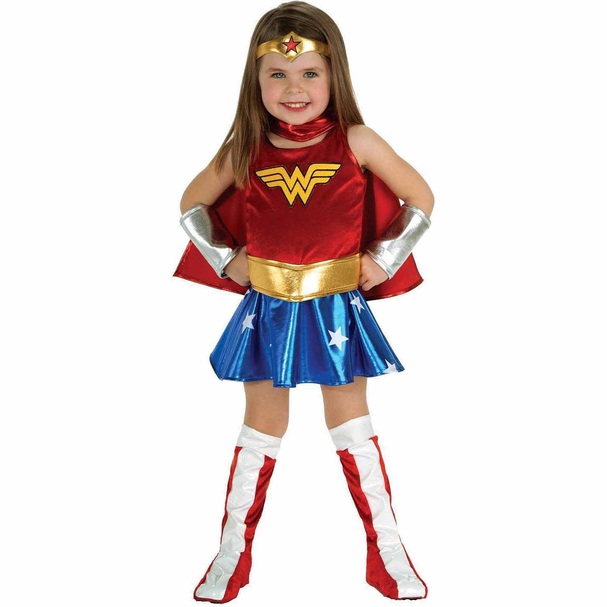 Wonder Woman Toddler Halloween Costume, (2T- 4T) | Birthday Party ...