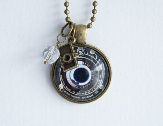 8a9be8f0c4ccb Camera Lens Necklace - Photography Jewelry - Gift For Photographer ...