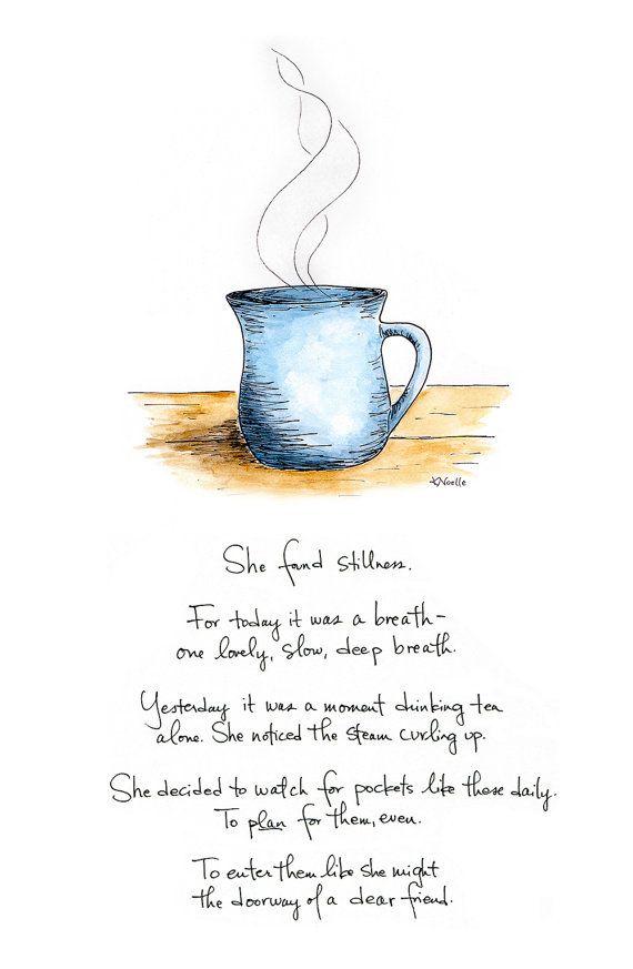 She Found Stillness (Print)
