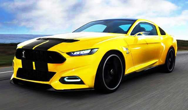 2016 ford mustang front view