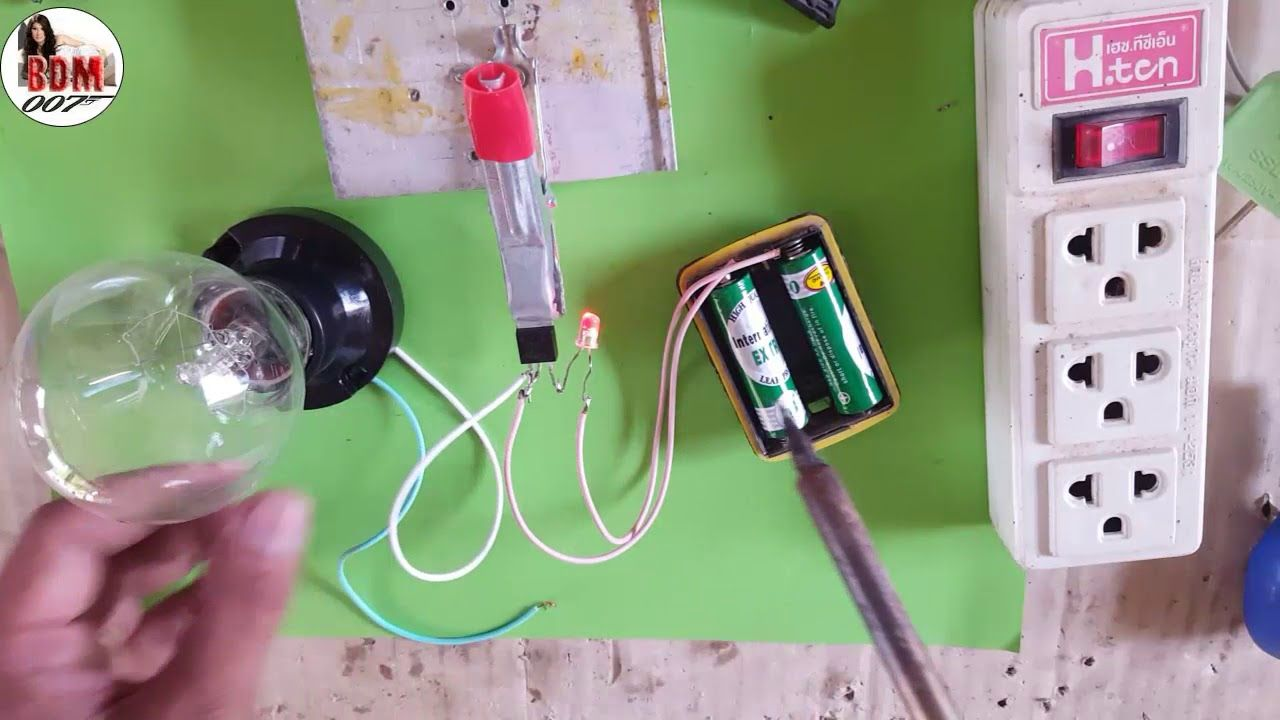 Verwonderlijk Idea Save Money || DIY Simple Electronic project with BT136 & RGB YZ-46