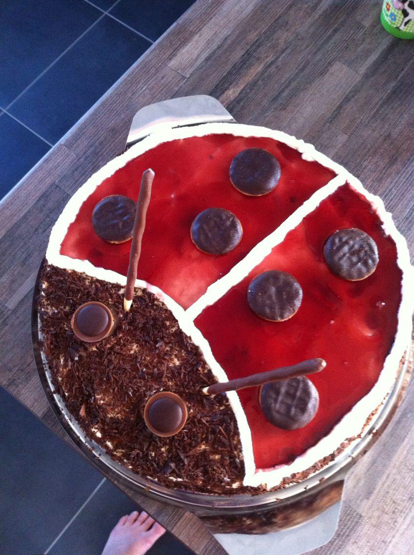 Ladybird Cake Marienkafer Torte Lecker Essen Pinterest