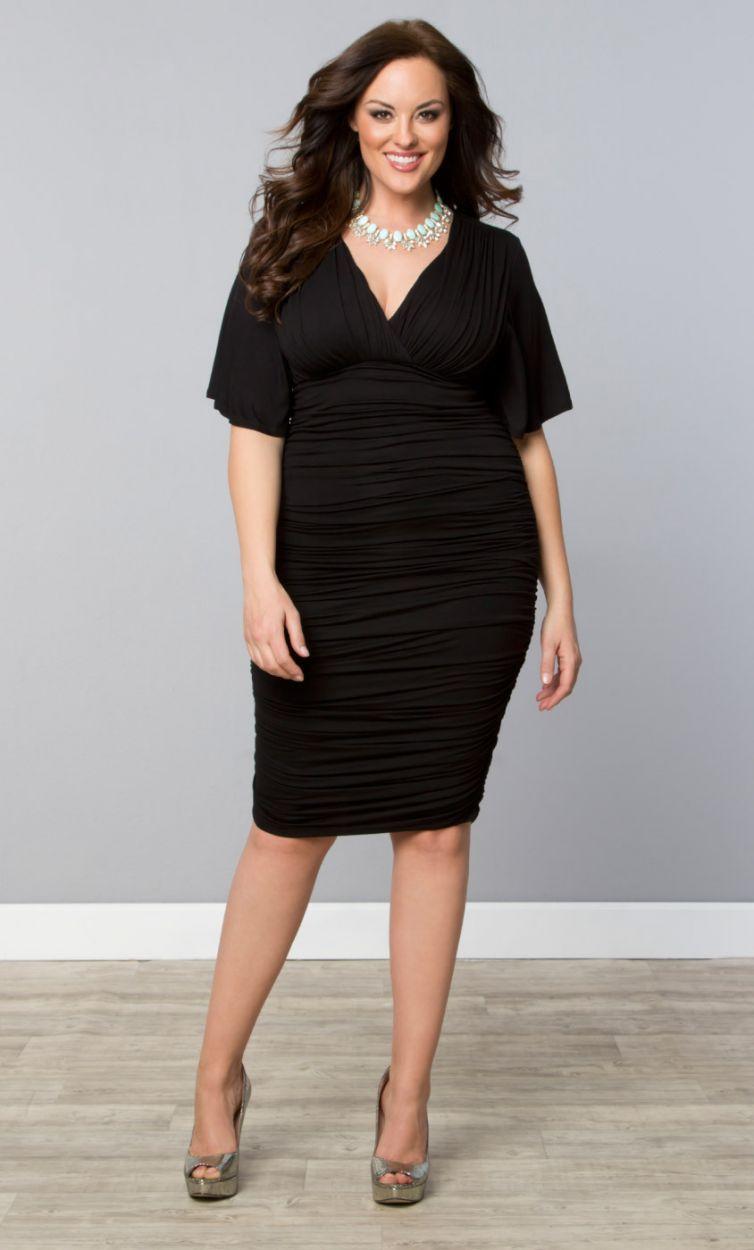 kiyonna beautiful little black dresses size 10-32 #lbd   size