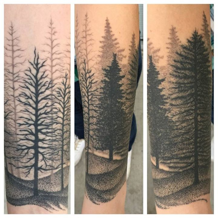 Olio healed tattoo by dany from karma tattoo studio