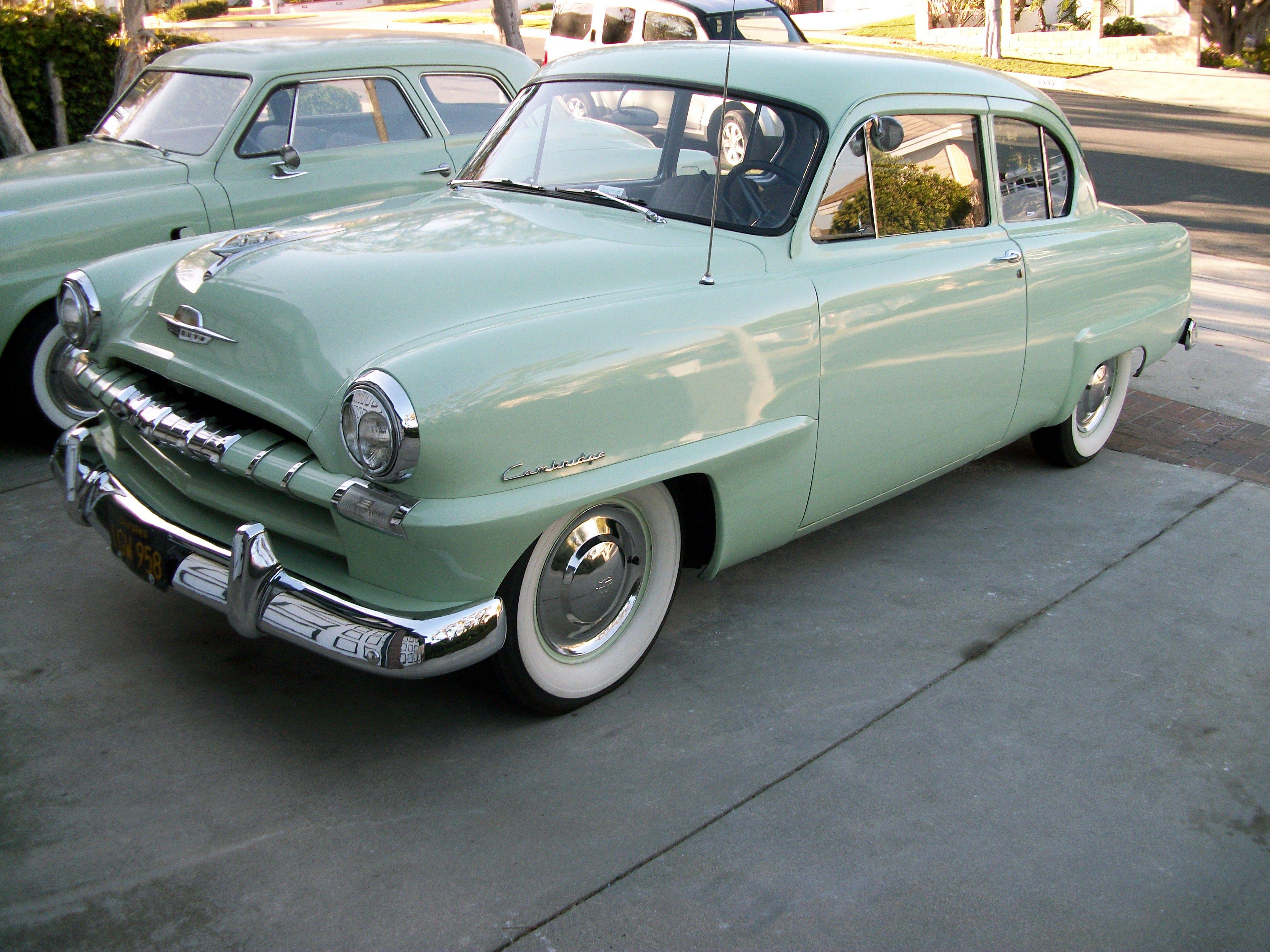 medium resolution of 1953 plymouth cranbrook 2 door sedan