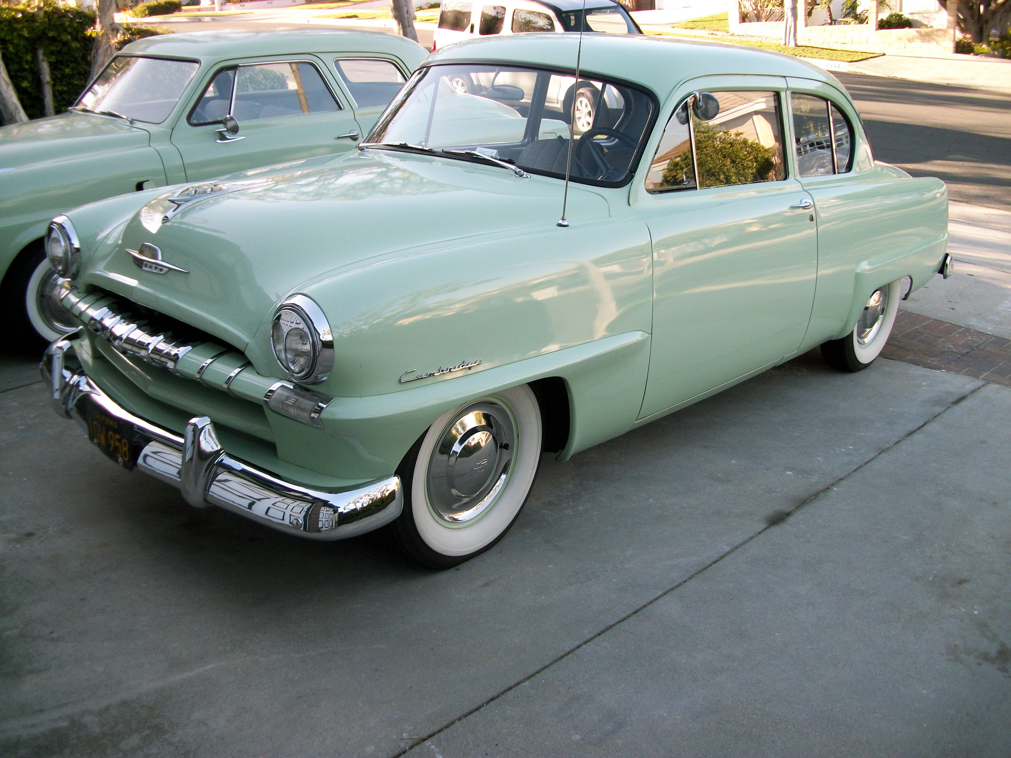 hight resolution of 1953 plymouth cranbrook 2 door sedan