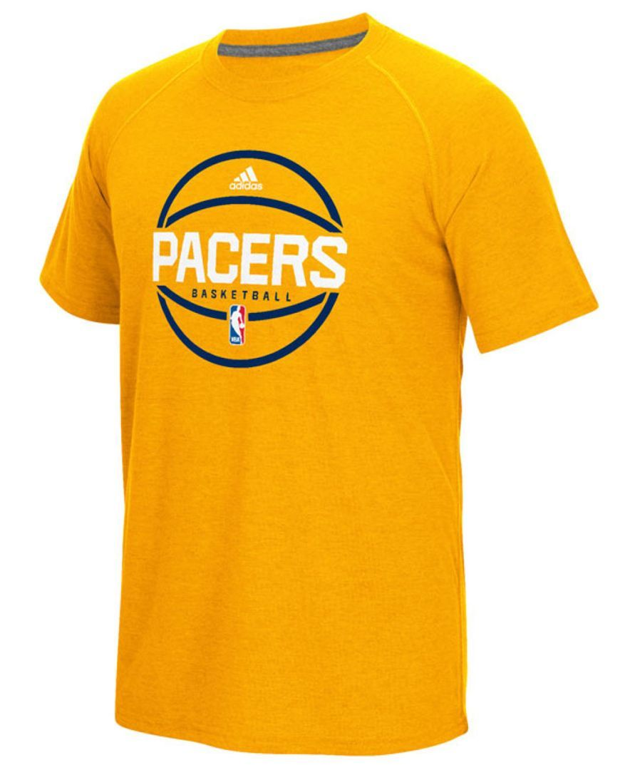 cf72bccb7322 adidas Men s Indiana Pacers Climacool Ultimate T-Shirt