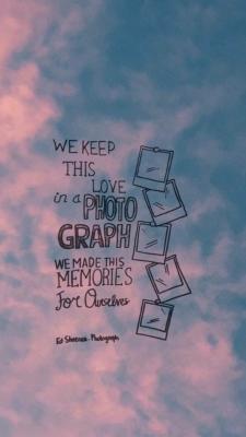 Ed Sheeran - Photograph  #lyrics