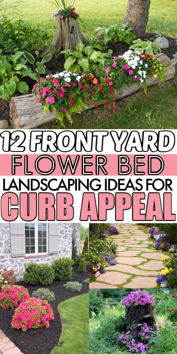 Photo of 12 Front Yard Flower Bed Ideas