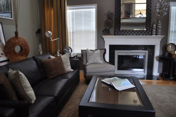 Old Meets New Great Room   Living Room Designs   Decorating Ideas   HGTV Rate  My
