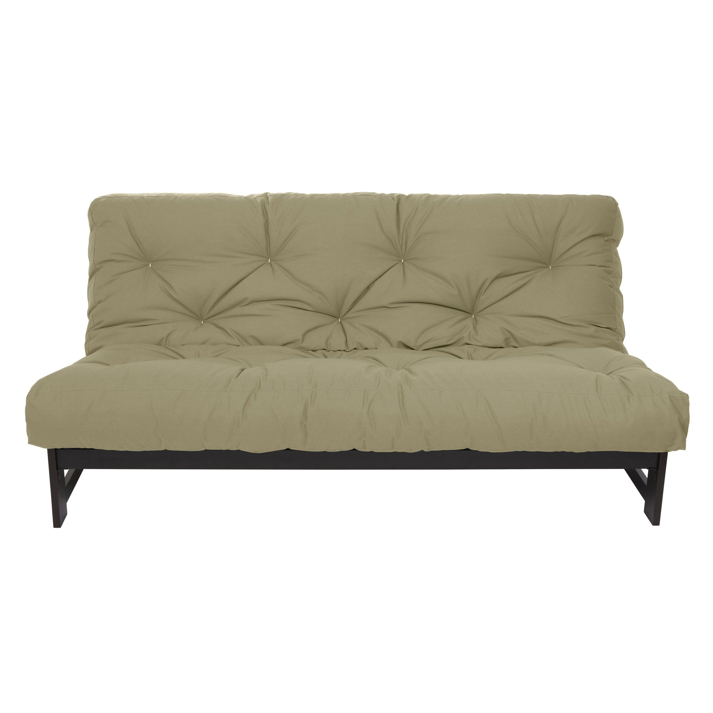 Mozaic Company Queen Size Khaki 10inch Dual Gel Futon Mattress Details Can Be Found By Clicking On The Image This Is A Futon Mattress Futon Mattress Sizes
