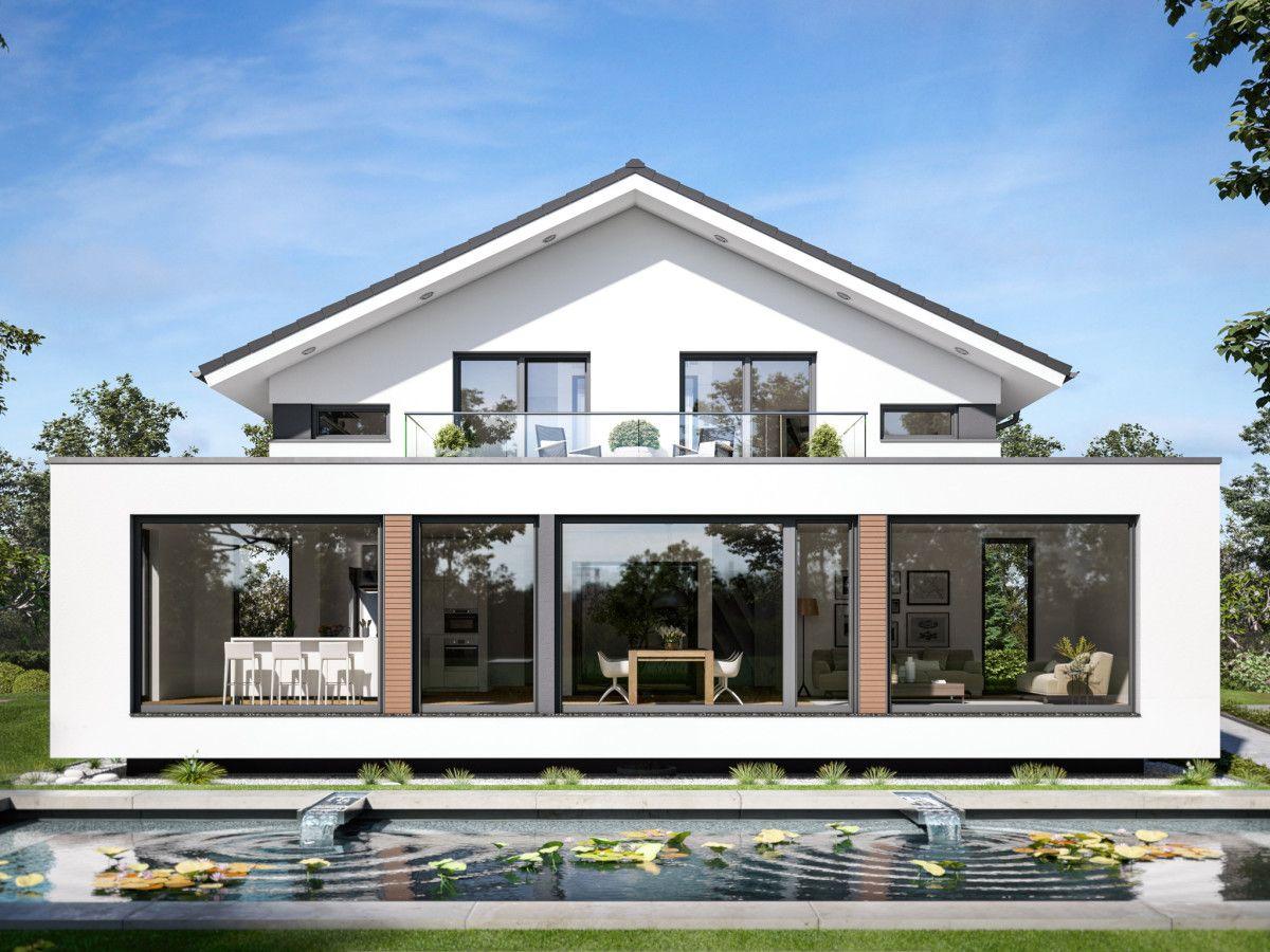 Moderne architektur haus concept m 210 bien zenker for Modernes haus raumaufteilung
