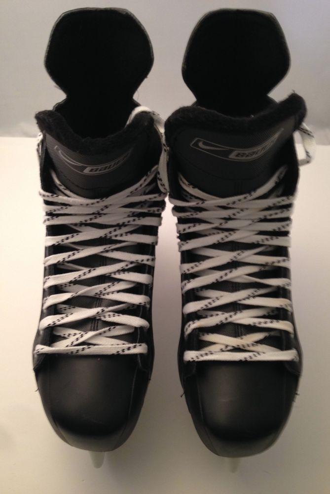 Bauer Supreme Nike One05 Lightspeed Pro Hockey Skates Stainless Steel Size 11R #NikeBauer