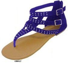 Womens Roman Gladiator Sandals Microsuede W/Rhinestones (5/6, Cobalt 6238) Unknown,http://www.amazon.com/dp/B00B7MQF9K/ref=cm_sw_r_pi_dp_-F6Rrb0F84V0F2D2