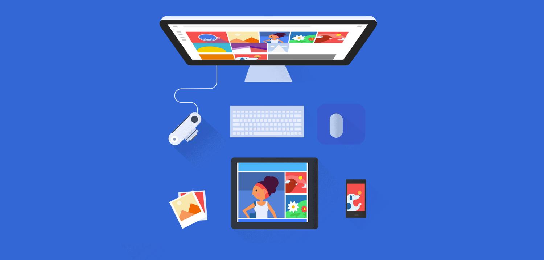 L'application Google Photos Backup pour PC est disponible