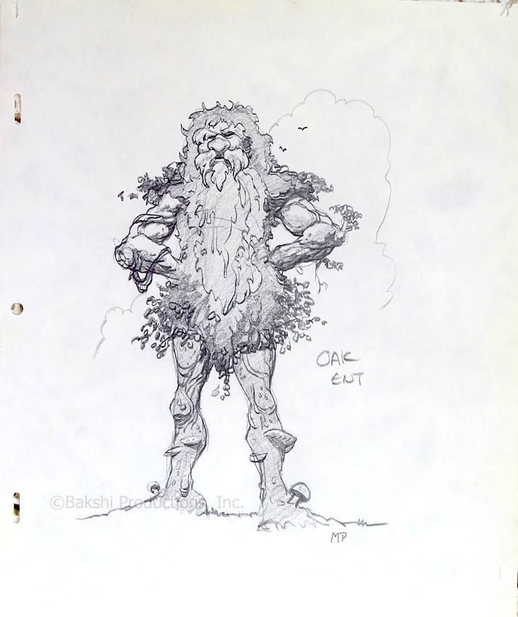 Lord Of The Rings Nazgul Concept Art By Mike Ploog: Ralph Bakshi, Art