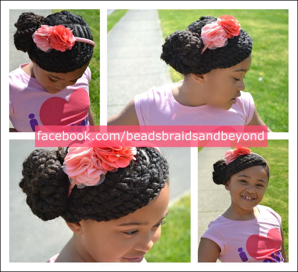 Beads, Braids and Beyond: Little Girls Hairstyle: Side Swept Two ...