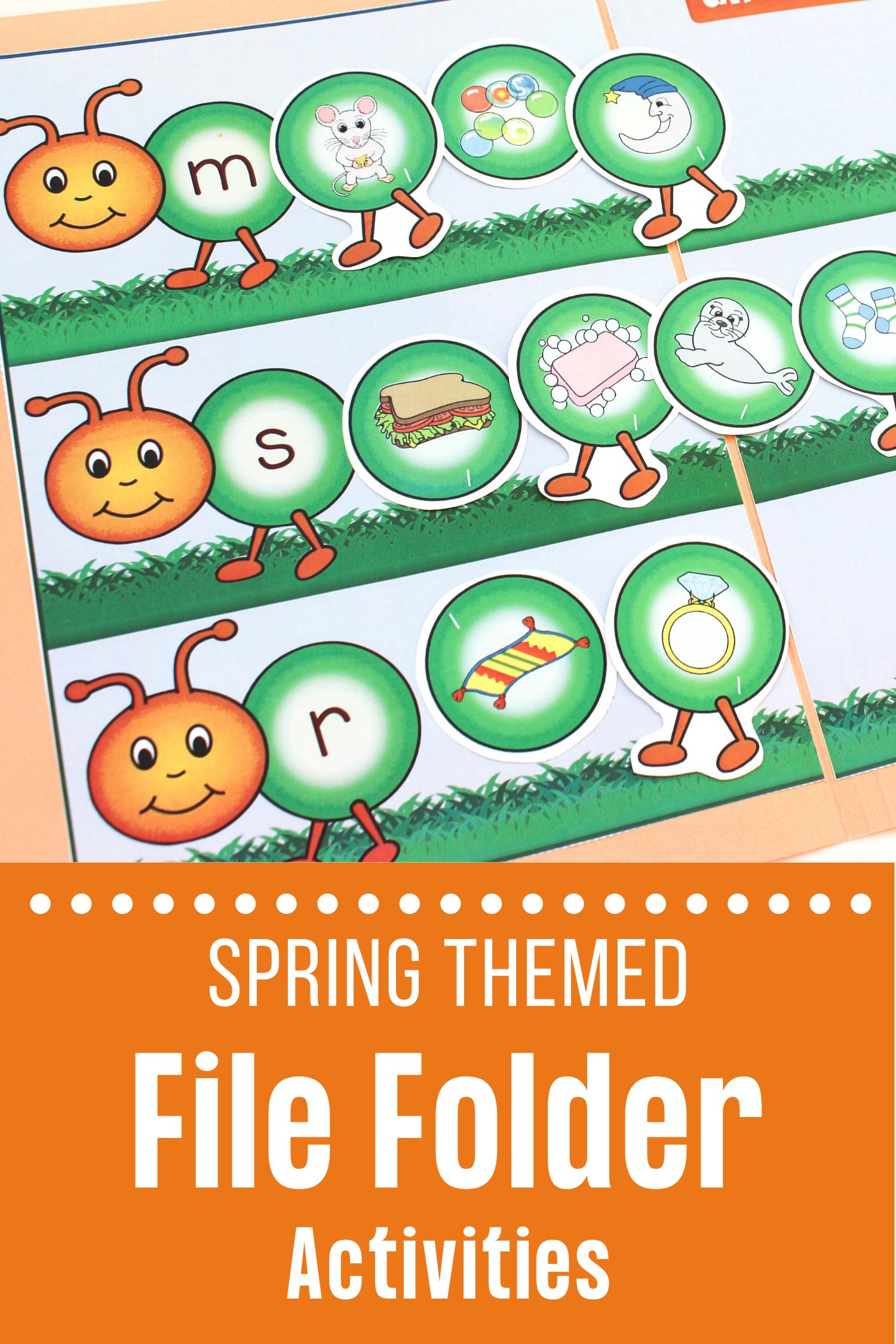 File Folder Games In