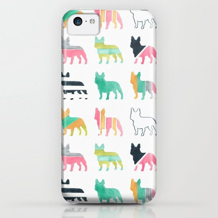 French Bulldogs iPhone & iPod Case