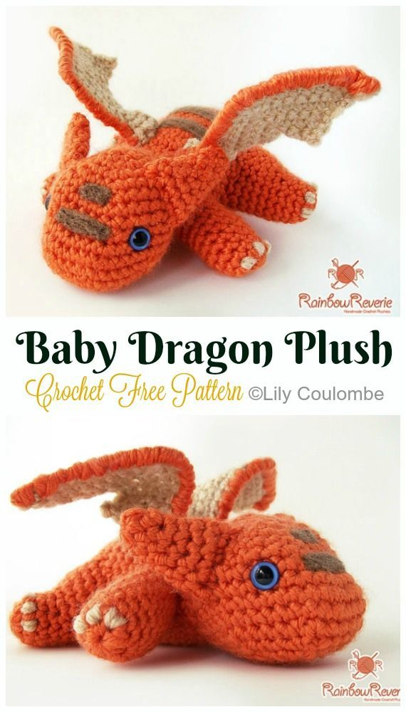 20 Amigurumi Dragon Free Crochet Patterns • Page 3 of 3 • DIY How To