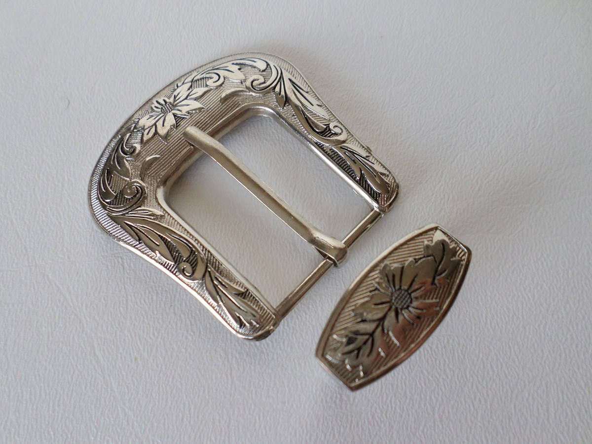 Plain WESTERN FRAME Round Belt Buckle NEW FOR ENGRAVING