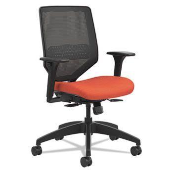 Solve Series Mesh Back Task Chair, Bittersweet