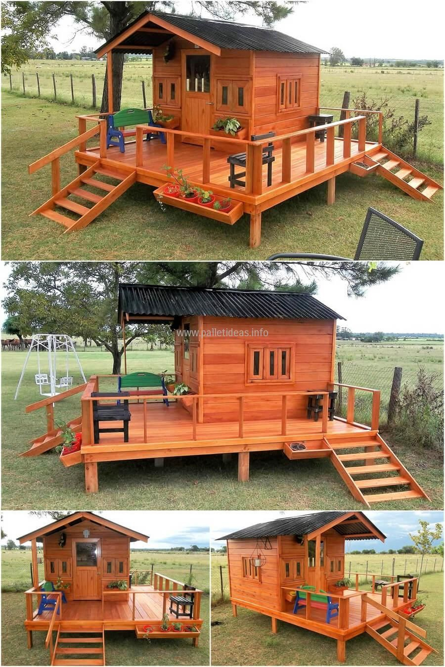 Tremendous Reclaimed Wood Pallets Patio Cabin Deck Wood Pallets In Best Image Libraries Barepthycampuscom