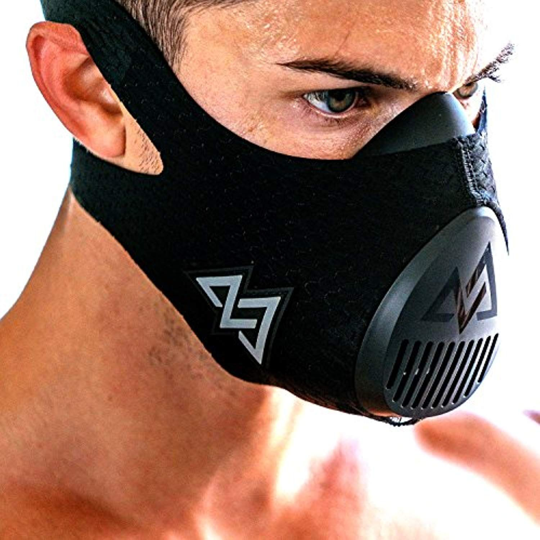 Training Mask 3.0 [All Black] for Performance Fitness