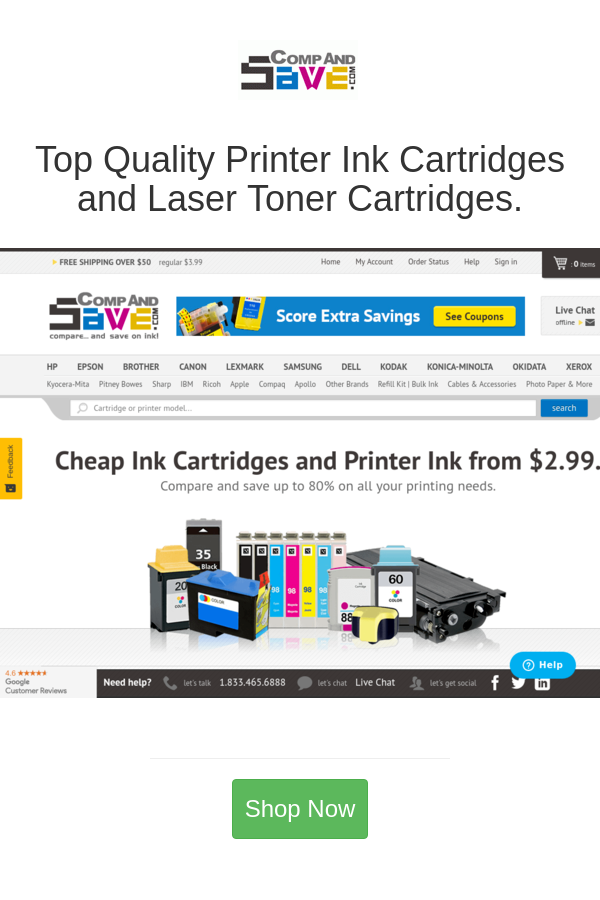 Best Deals And Coupons For Compandsave Com In 2020 Printer Ink Cartridges Laser Toner Cartridge Laser Toner