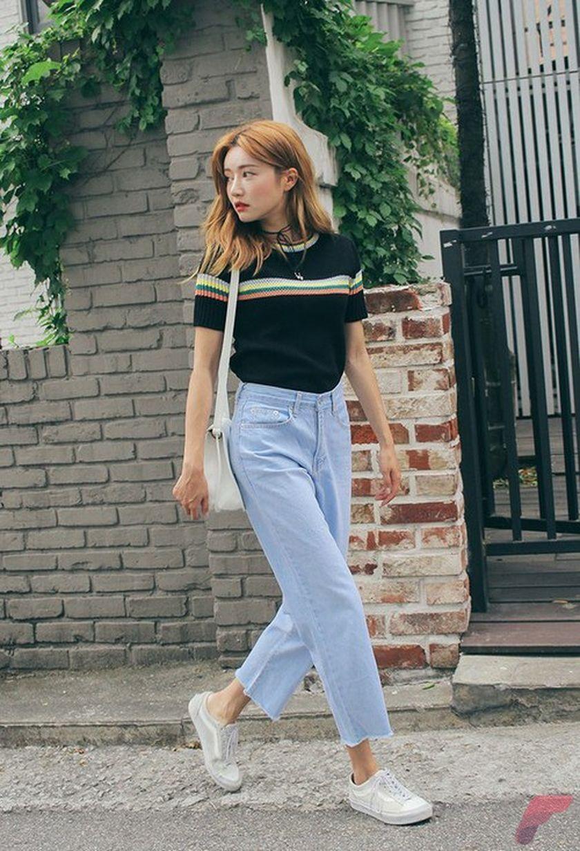 6 Beauty Look Korean Kpop Ulzzang Summer Fashions https://fasbest