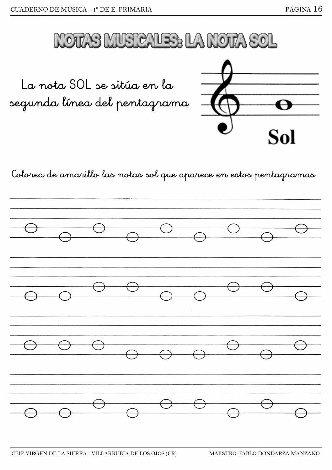 Baixar Imagens Atividades Com Notas Musicais Para Imprimir