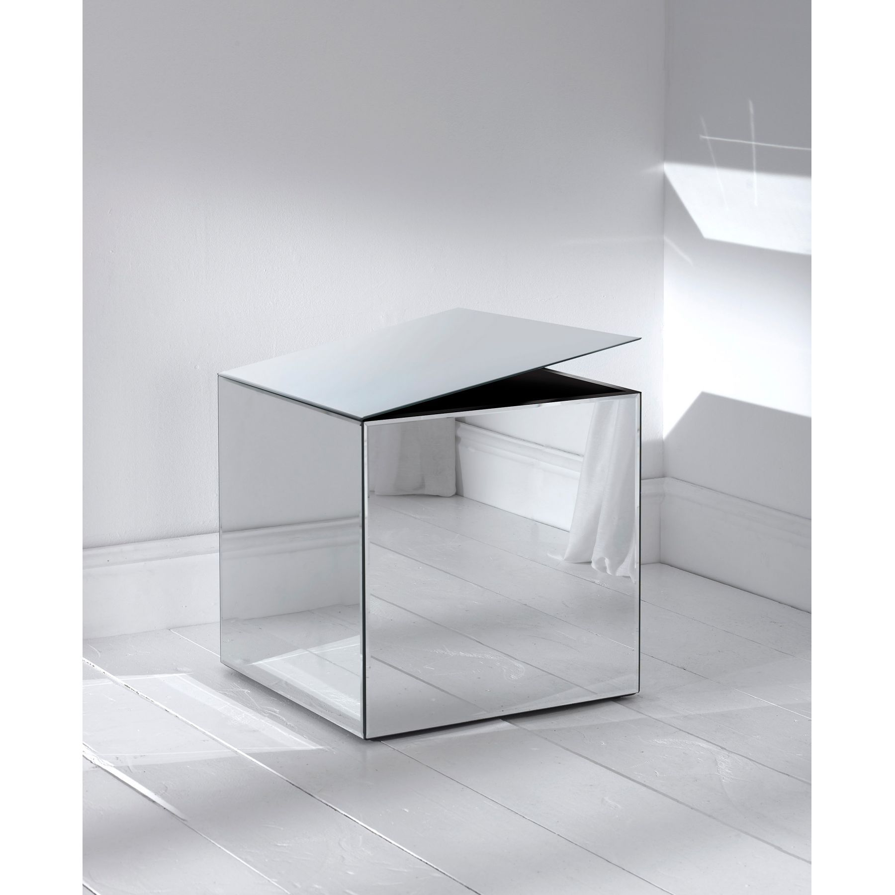 Mirrored Cube Storage Box In 2019