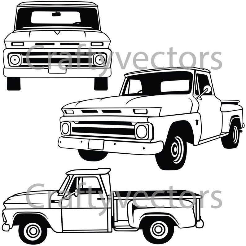 1960 chevy c10 stepside truck