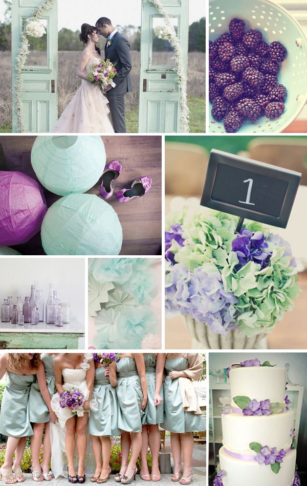 Seafoam And Purple Wedding Colors Or Since The Are Nice Use It In Home Decor Okay That S I M Becoming An Event Planner