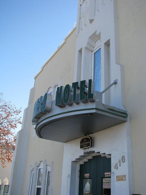 El Primero Hotel Chula Vista California Deco In Southern