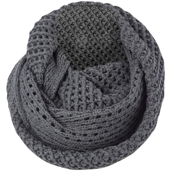 0fad2475890 French Connection Pagliaro Knitted Snood ($70) ❤ liked on Polyvore ...