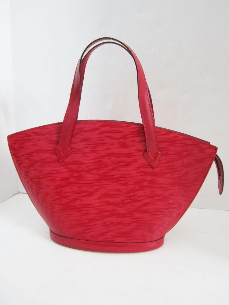 60bc915d Louis Vuitton Saint Jacques Castilian Red Epi Leather Medium Tote ...