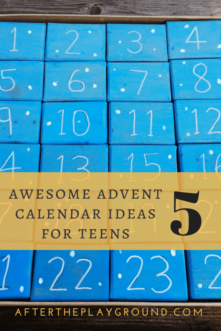 Advent Calendar For Teens Top 5 awesome advent calendar ideas for teens and students