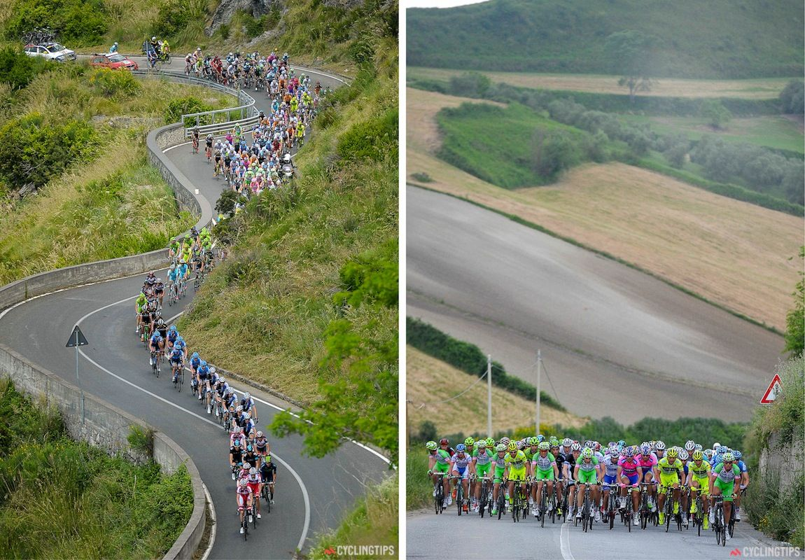 COLOURS OF THE GIRO  Stages 1 to 9 - stage_4_1