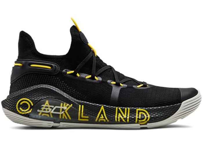Bloquear novedad Silla  Under Armour Curry 6 Thank You Oakland   Under armour shoes, Curry shoes,  Basketball shoes