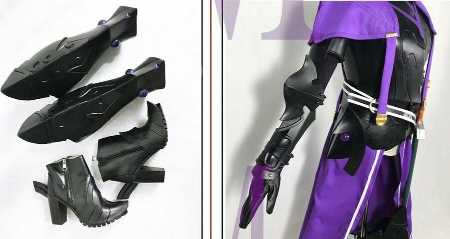 Customize FateGrand Order Galahad Cosplay Costume Armor