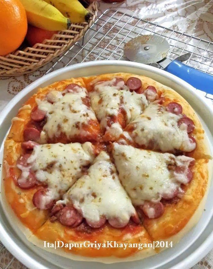 Pizza Dengan Metode Water Roux (Teknik Tang Zhong) (Dengan