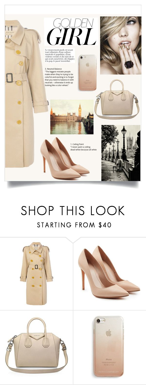 """""""Set #24"""" by denisabe ❤ liked on Polyvore featuring Burberry, Alexander McQueen, Givenchy, Rebecca Minkoff and Murphy"""