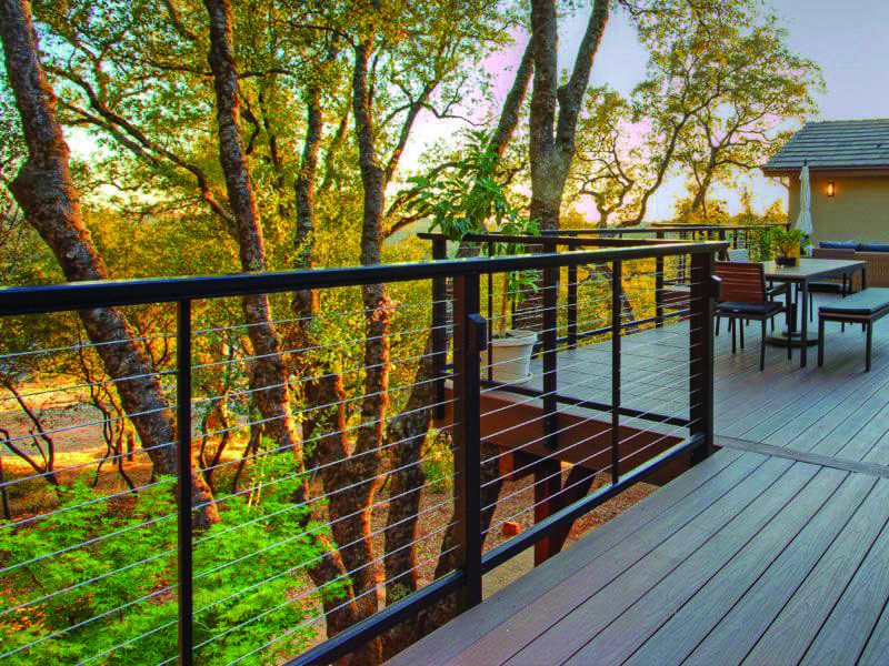 Deck Railing Tips & Instances for Your House | Metal Deck